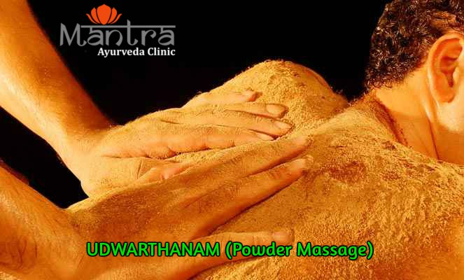 Blog Ayurveda/Ayurvedic Powder massage treatment for weight